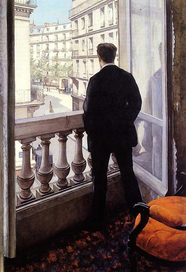 616px-G._Caillebotte_-_ Young Man at His Window