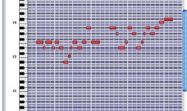 Ventana de edición del secuenciador Reason
